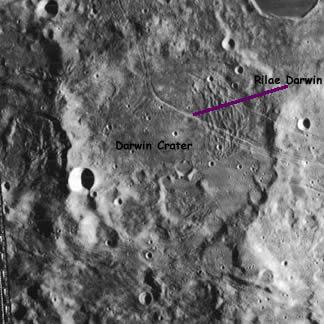 Darwin Crater