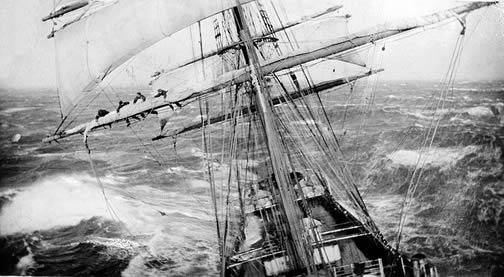 Garthsnaid at Sea