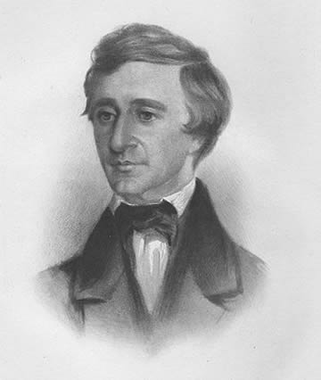 Henry David Thoreau in 1854