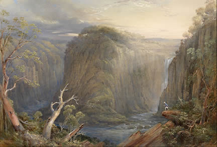 Conrad Martins landscape painting - Apsley