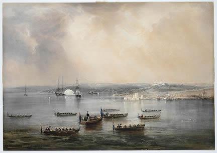 Conrad Martins landscape painting – Phillip Parker King
