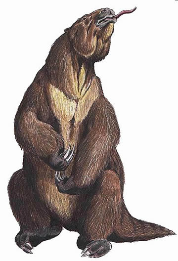 Megatherium reconstruction