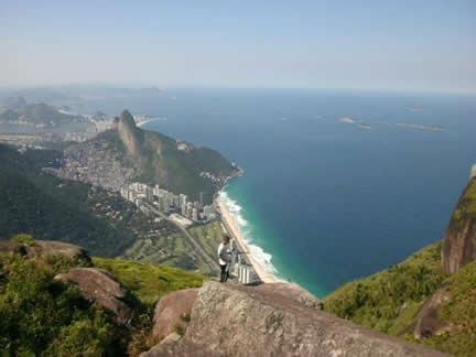 View from Pedra da Gávea