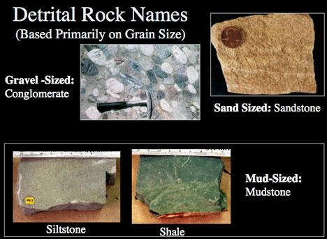 Sedimentary Detrital Rock ID