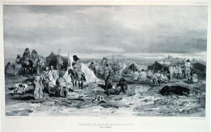 Tehuelche camp