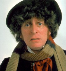 Tom Baker as the 4<sup>th</sup> Doctor