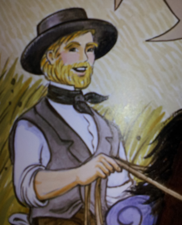 Young bearded Darwin