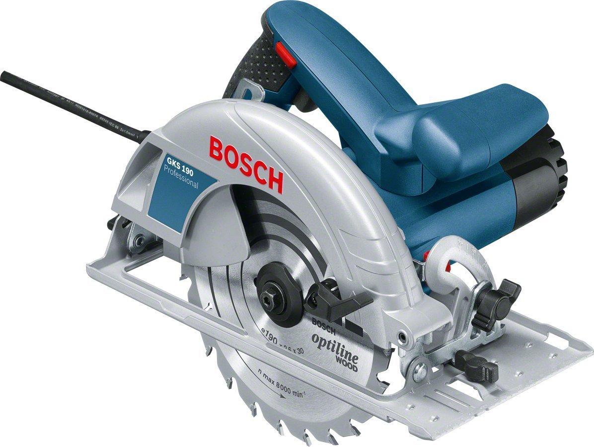 Test et Avis : Bosch GKS 190, une scie circulaire professionnelle