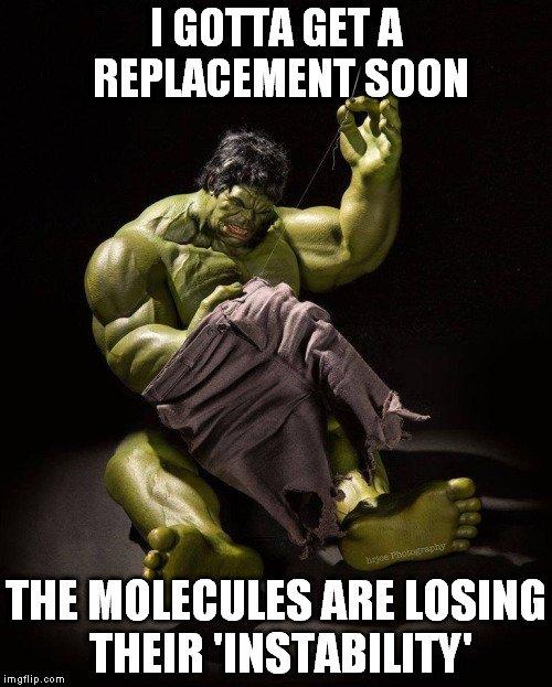 The Hulk Meme : Hulk's, Pants, Remain, Intact, Everything, Shreds