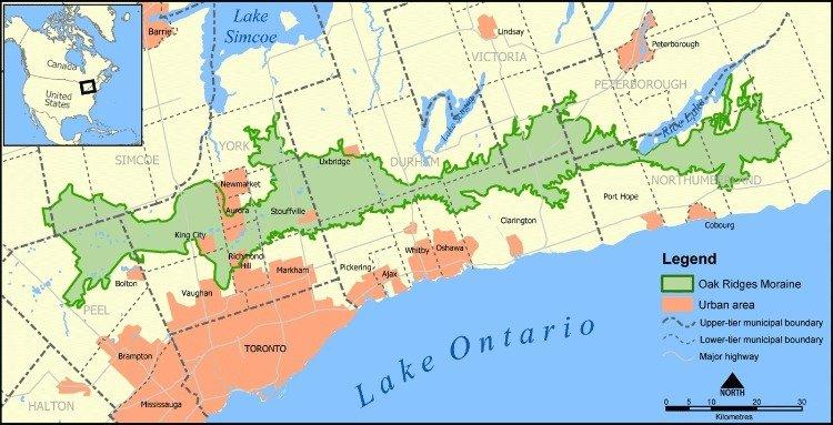 Oak_Ridges_Moraine_map
