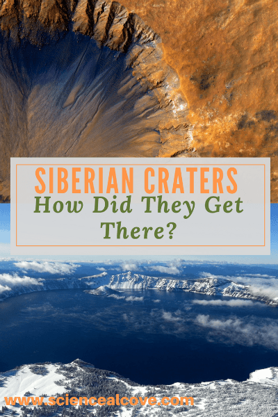 Siberian Craters: How did they get there?