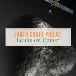 Earth Craft Philae Lands on Comet