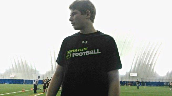 Super Elite Football Camp, Aurora, Ontario 2015, Copyright Teresa Coppens
