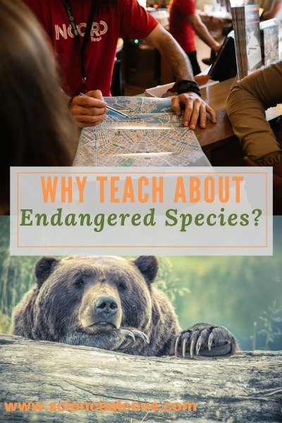 Why Teach about Endangered Species-https://sciencealcove.com/2015/06/why-teach-about-endangered-species/