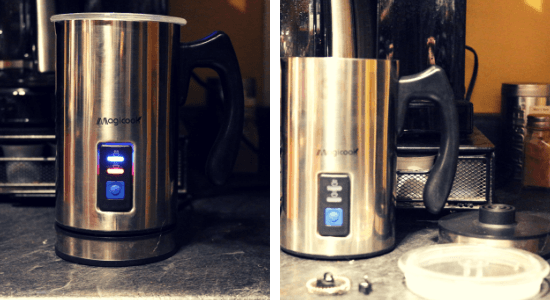 The Magicook Milk Frother is the perfect tool for creating a perfect coffee experience. Read a review of this tool and learn the science of milk foaming. #coffeefrother #magicookcoffeefrother #scienceofmilk #scienceoffrothingmilk