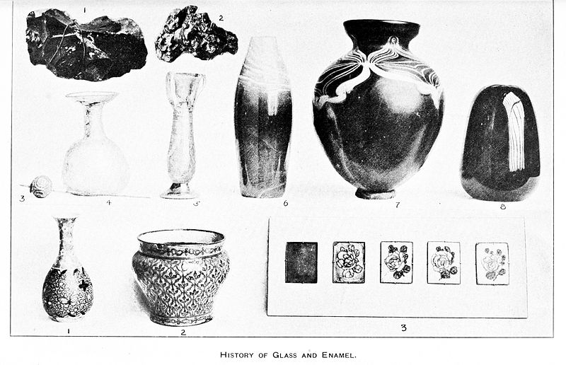 The Discovery And Development Of Glass