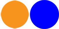 Newbee oder alter Hase - Orange oder Blau? Farbpunkte für bessere Kontakte.