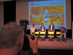 """Web-Videos eine Chance - Siegerfoto im Wettbewerb """"fast forward science""""."""