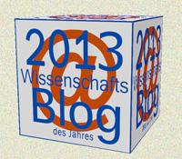 """Der Wissenschaftsblock 2013 in Silber - für """"Kritische Wissenschaft - critical science"""""""