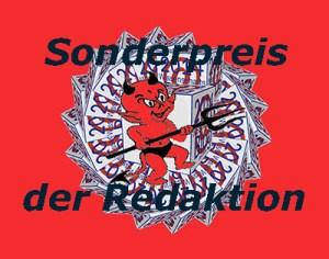 """Der Sonderpreis der Redaktion zum """"Blog-Teufelchen 2014"""" für den Blog """"Sciencesofa""""."""