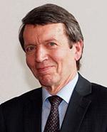 Ein zweiter Gründer: Dr. Gerald Lange, der Computerfachmann.