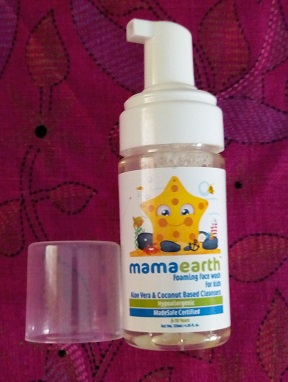 Mamaearth Foaming Baby Face Wash for Kids