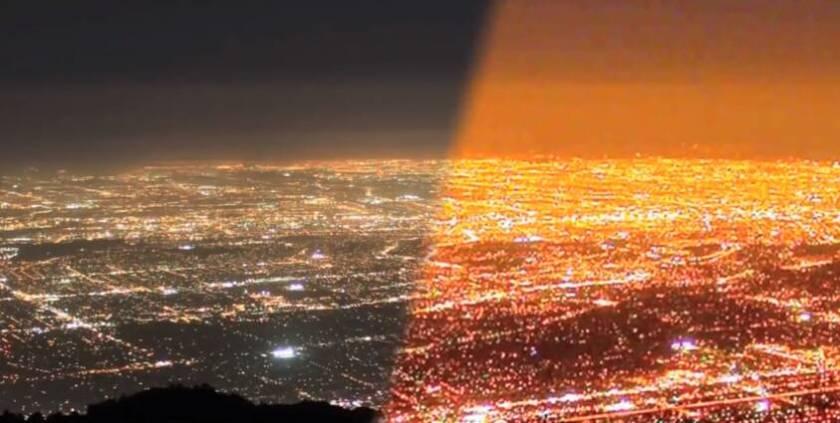 La lumière pollue aussi le ciel