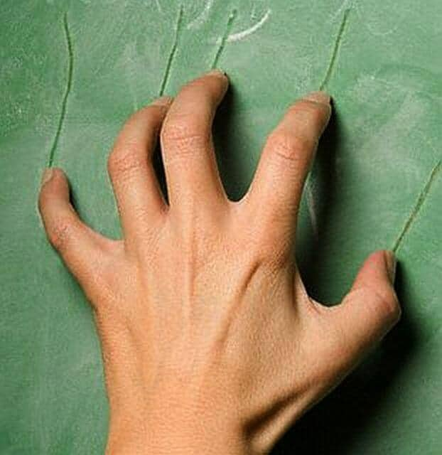 It's anatomy's fault! Why fingernails on chalkboards irritate