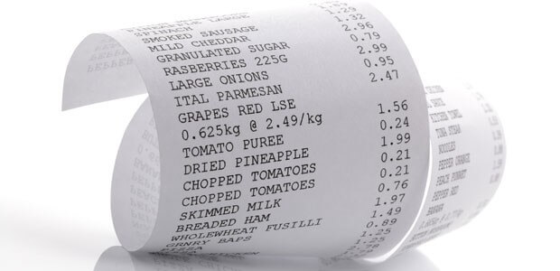 Recycled thermal cash register receipts spread BPA to other paper products