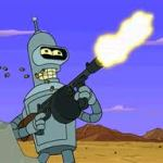 bender with gun