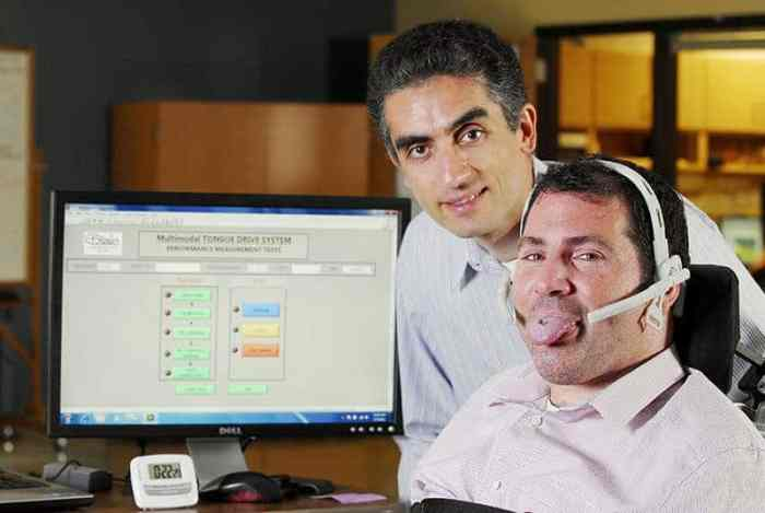Tongue-Controlled Wheelchair Beats Popular Navigation System