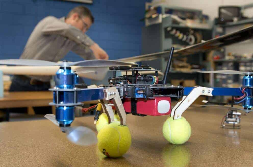 Programming drones to fly like birds