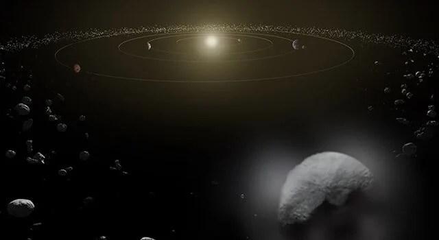 Herschel Telescope Detects Water on Dwarf Planet