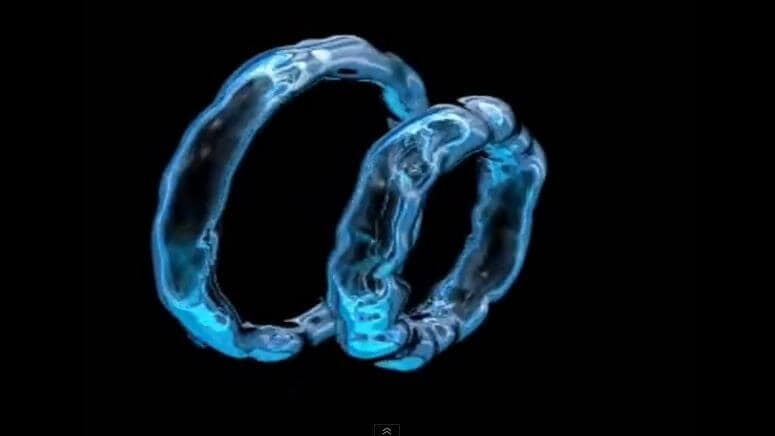 Solving a physics mystery: Those 'solitons' are really vortex rings