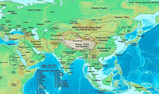 Favorable climate change facilitated rise of Mongol Empire