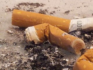 Ban cigarette filters to save the environment?