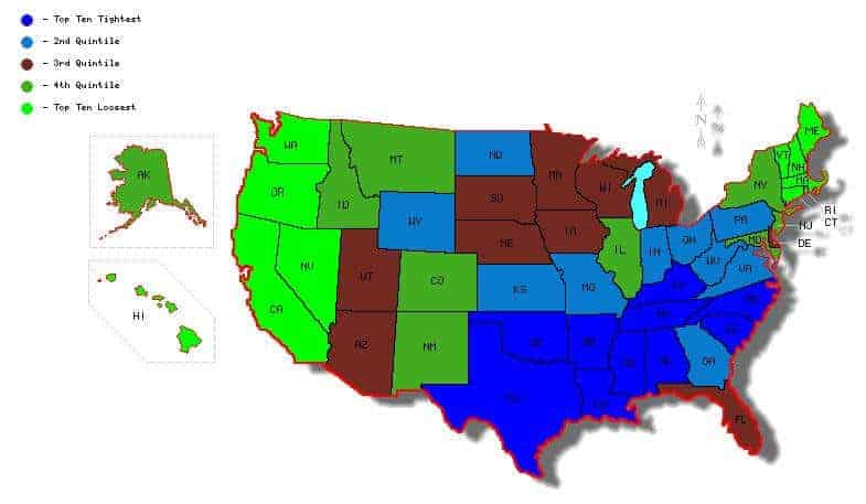 Beyond Red vs Blue: Study of States Finds 'Tight' vs 'Loose'