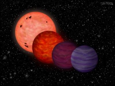 Planet-like object may have spent its youth as hot as a star