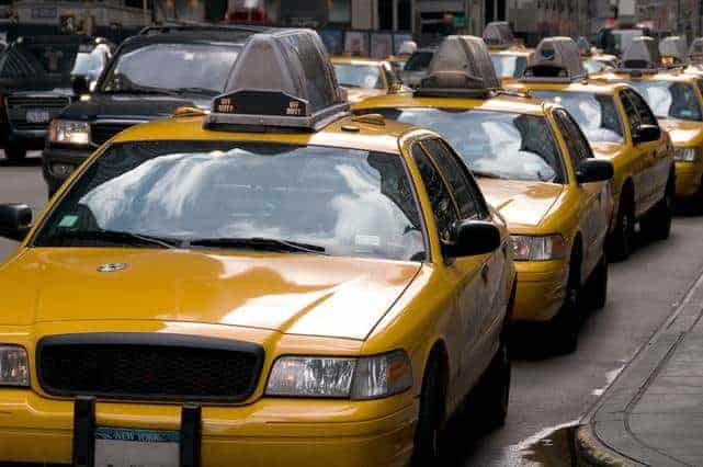 Expensive taxi rides for business travelers