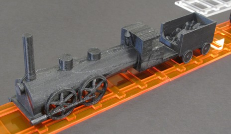 Next stop: Bringing a literary train to life with a 3D printer