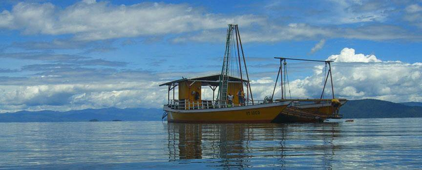 Project seeks climate clues deep in Indonesian lakebed