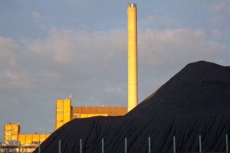 Filtering the carbon from coal
