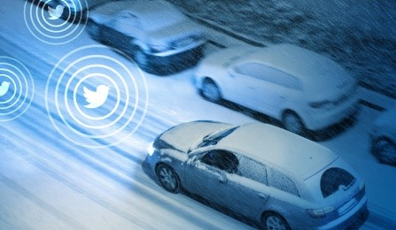 Twitter data can make roads safer during inclement weather