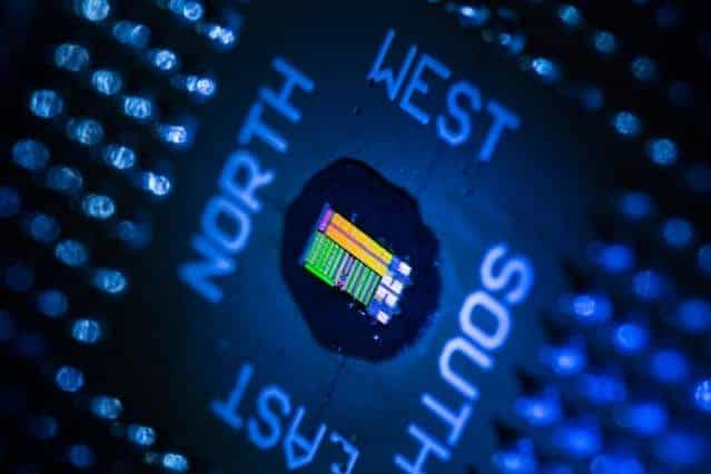 Optoelectronic microprocessors built using existing chip manufacturing