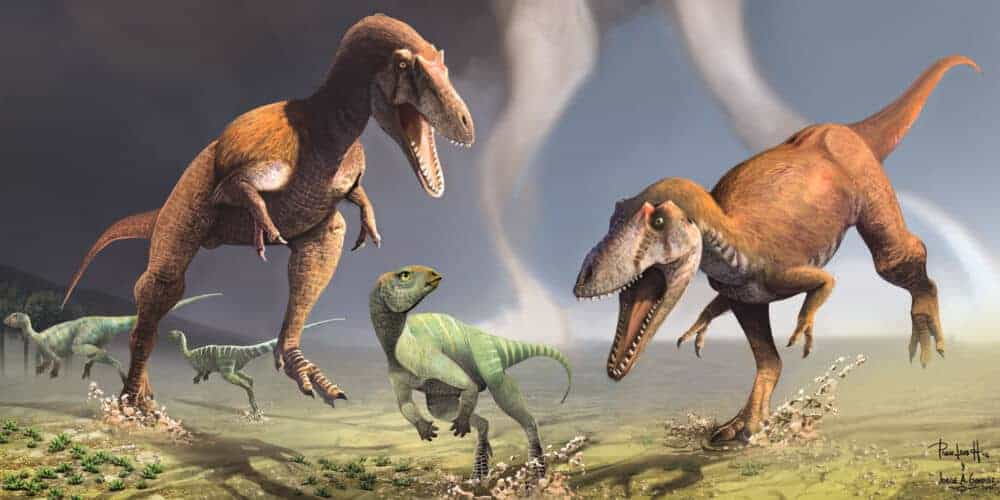 Newly-discovered dinosaur had 'T. rex arms' that evolved independently