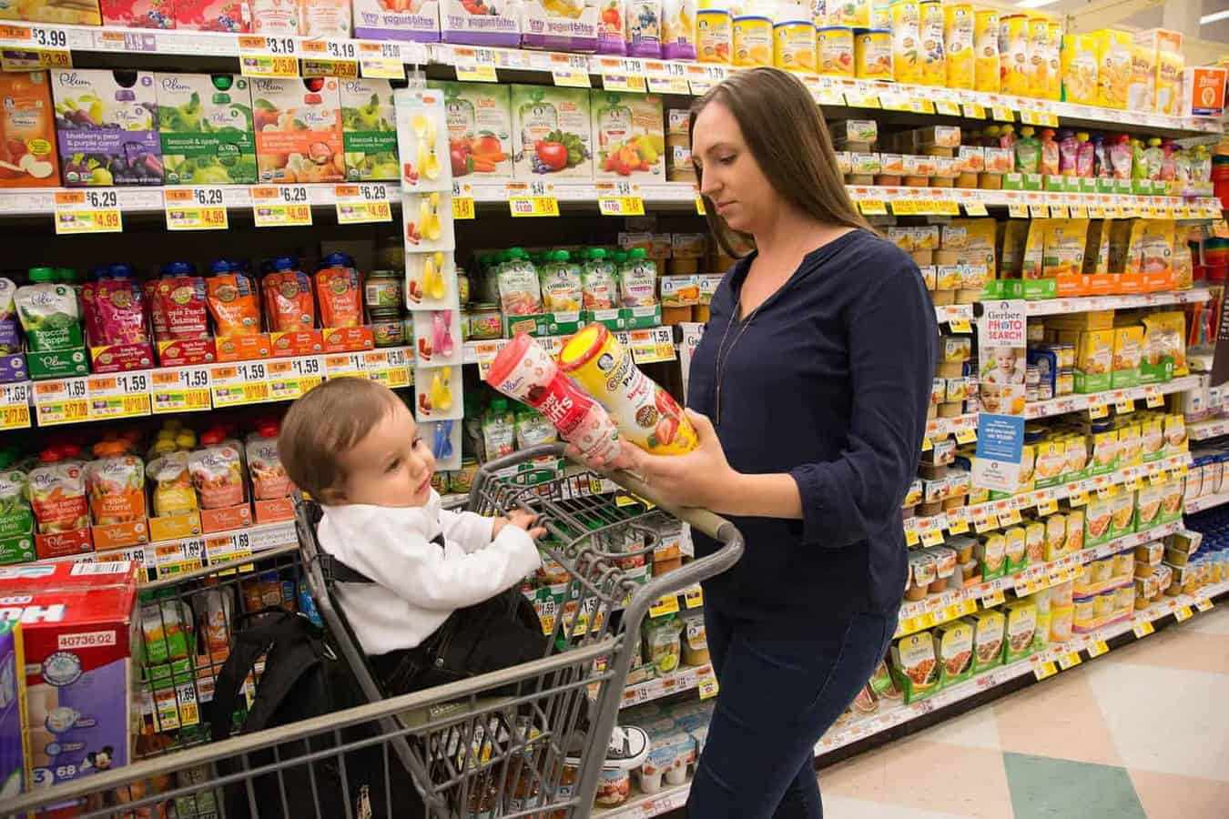 Baby Food Marketing Often Contradicts Expert Advice