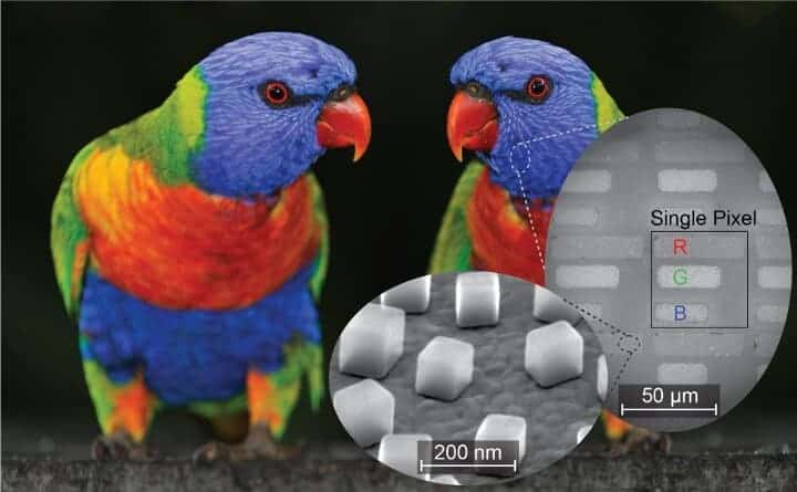 Nanocubes Simplify Printing And Imaging In Color And Infrared
