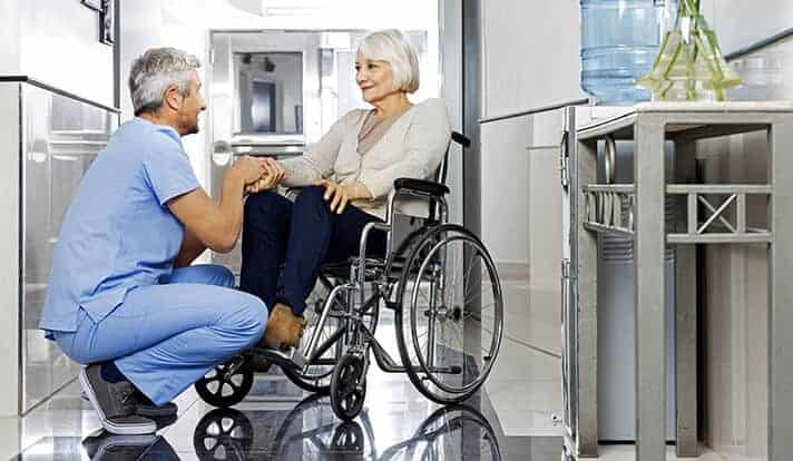 Risk of long-term disability in older adults who visit the ED