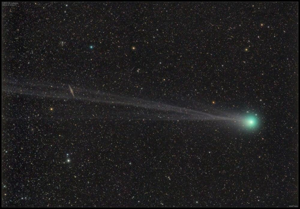 NASA study hints at possible change in water 'fingerprint' of comet Lovejoy