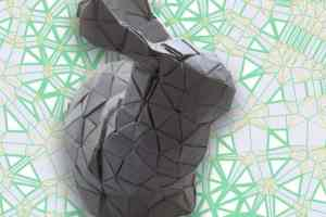 Tech generates origami patterns for any 3-D structure